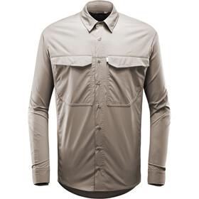 Haglöfs Salo - T-shirt manches longues Homme - beige